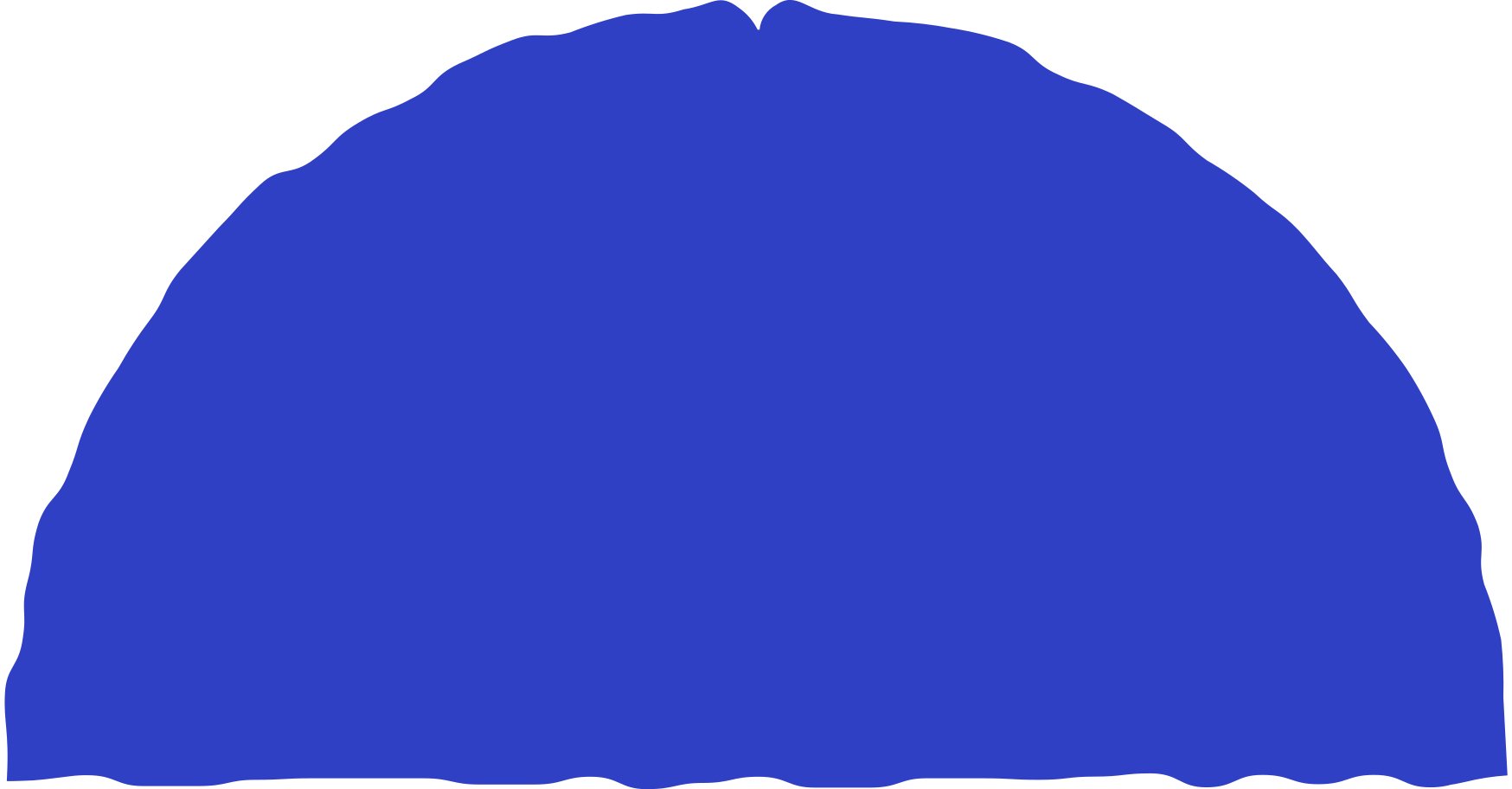 style semicircle blue Vector images in PNG and SVG   Icons8 Illustrations