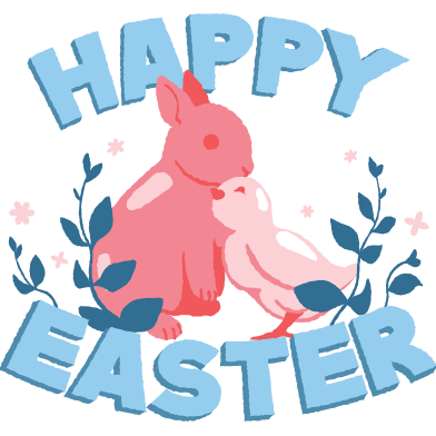style Happy Easter images in PNG and SVG | Icons8 Illustrations