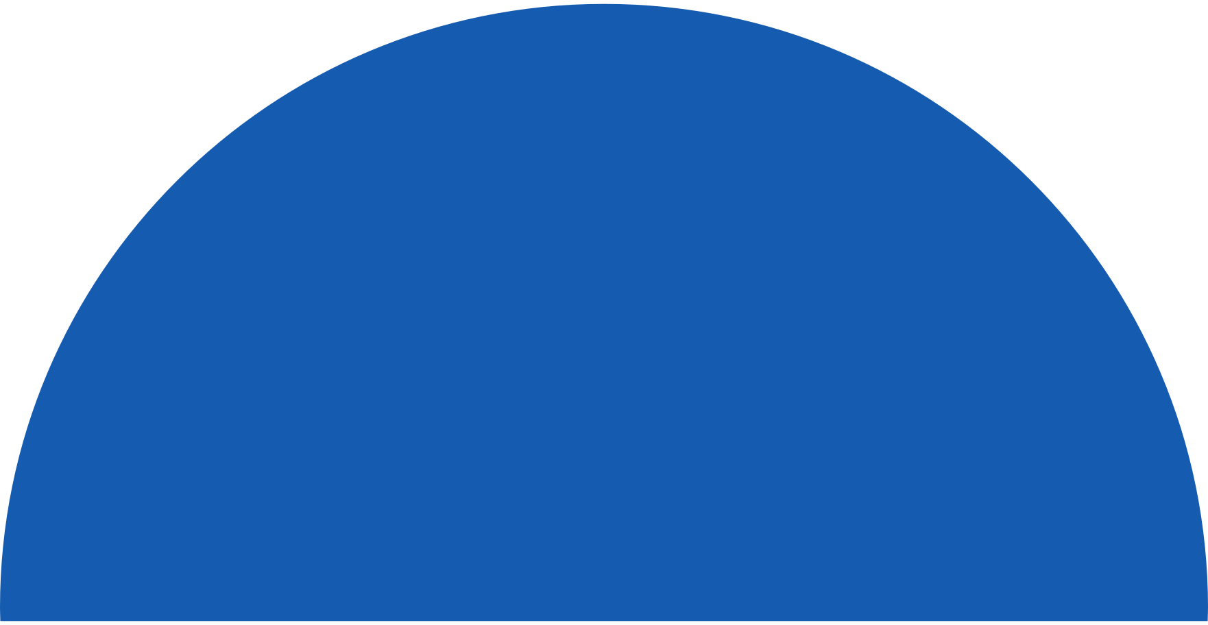 semicircle-blue Clipart illustration in PNG, SVG