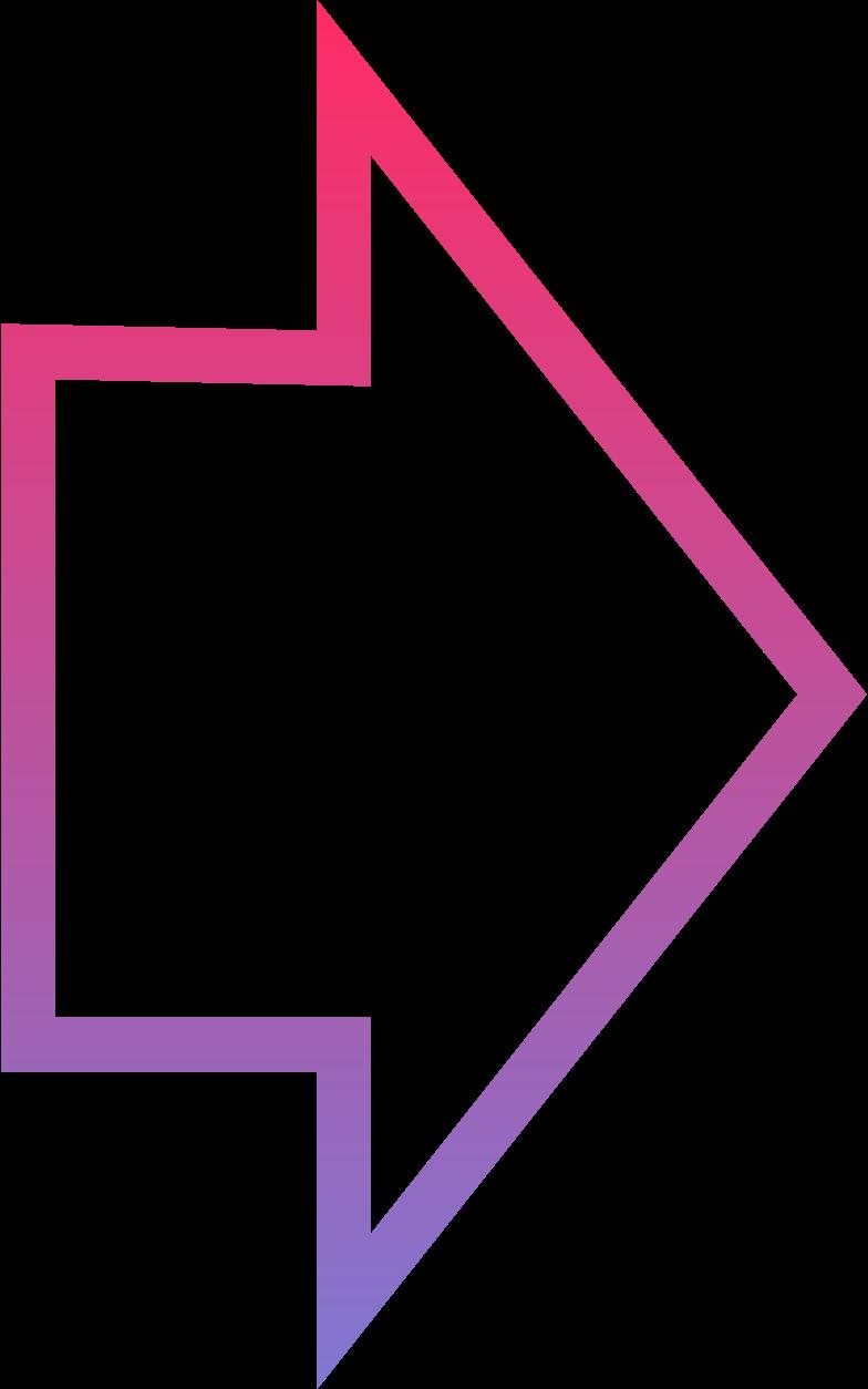 Imágenes vectoriales S grdnt flecha en PNG y SVG estilo  | Ilustraciones Icons8