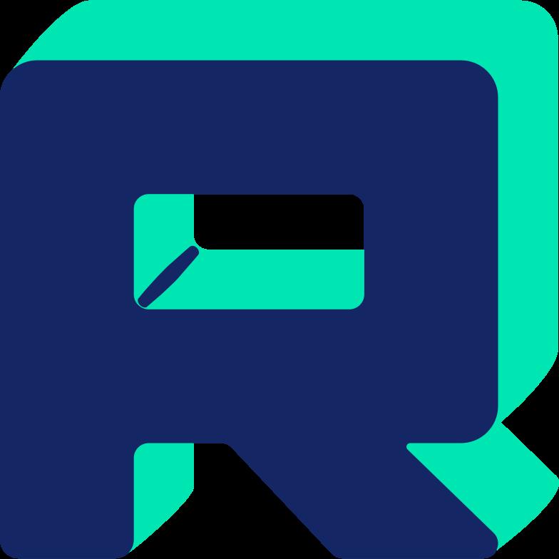letter r Clipart illustration in PNG, SVG