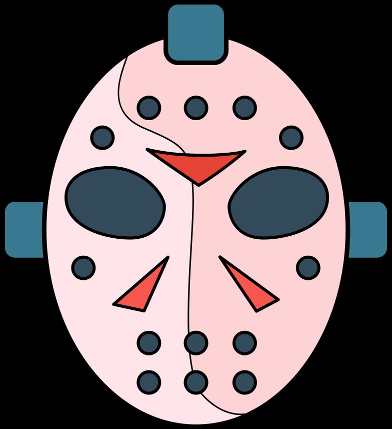 mask jason Clipart illustration in PNG, SVG