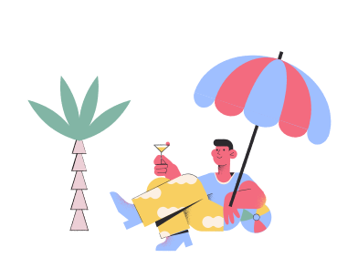 style Relax on the beach images in PNG and SVG   Icons8 Illustrations