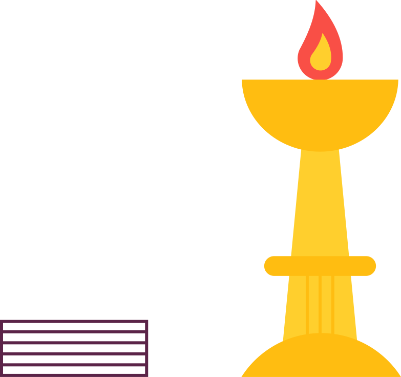 style indian candle in a bowl Vector images in PNG and SVG | Icons8 Illustrations