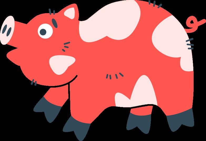 pig Clipart illustration in PNG, SVG