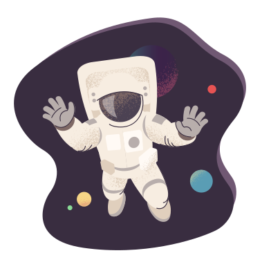 style Astronaut in space images in PNG and SVG | Icons8 Illustrations