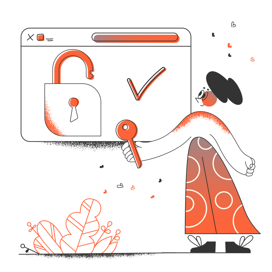style Web security images in PNG and SVG | Icons8 Illustrations