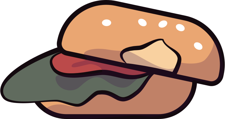 design  hamburger Clipart illustration in PNG, SVG