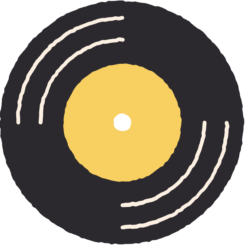 gramophone record Clipart illustration in PNG, SVG