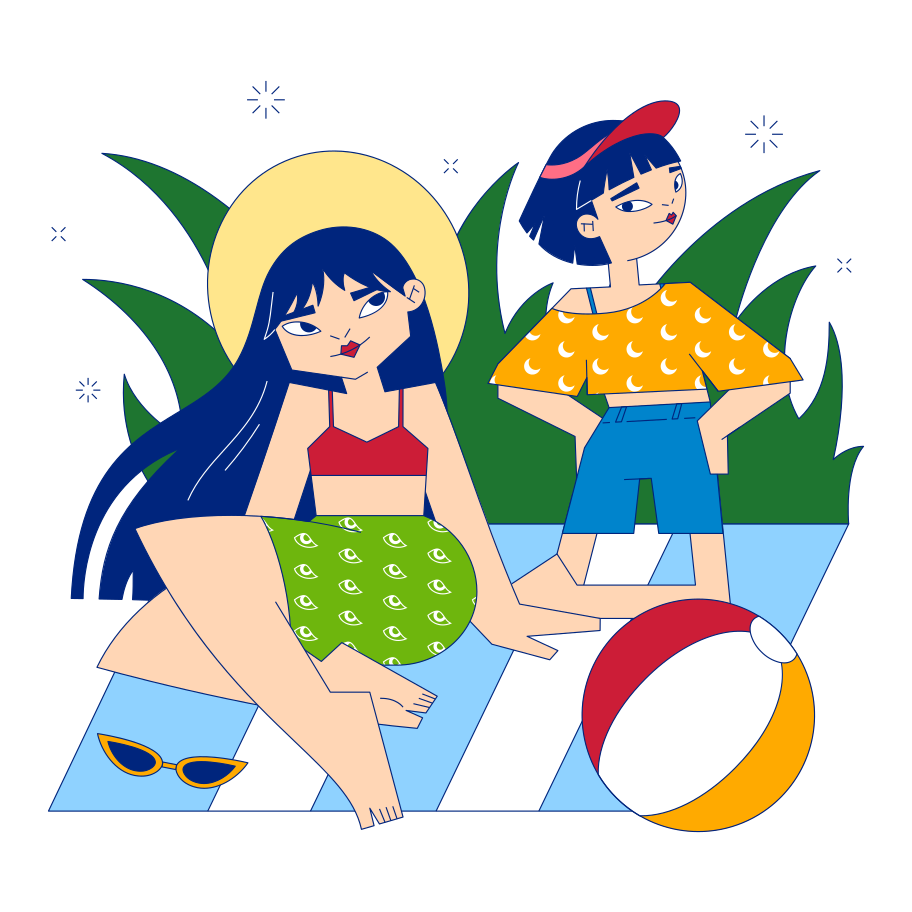 style Summer picnic Vector images in PNG and SVG | Icons8 Illustrations