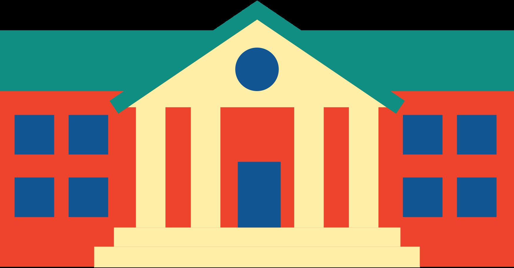 university building Clipart illustration in PNG, SVG