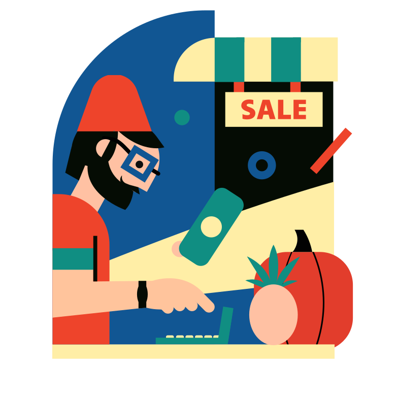 style Seller Vector images in PNG and SVG | Icons8 Illustrations