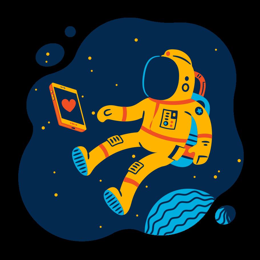 Like concept Clipart illustration in PNG, SVG