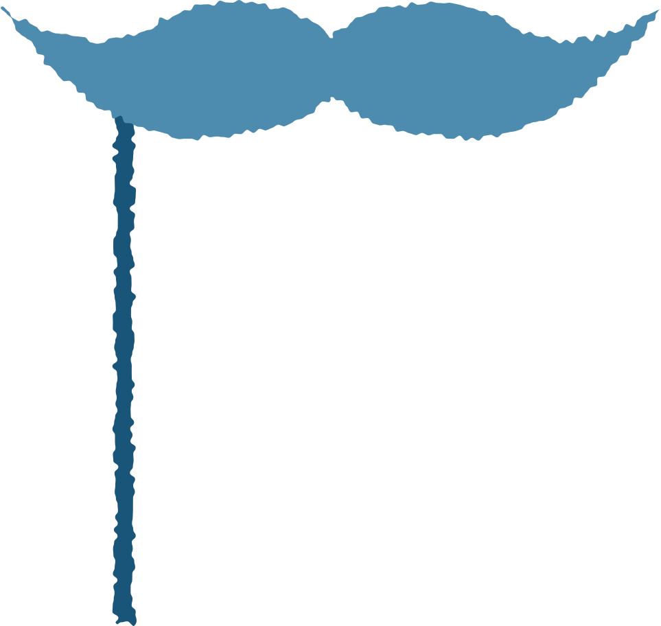 mask with moustache Clipart illustration in PNG, SVG