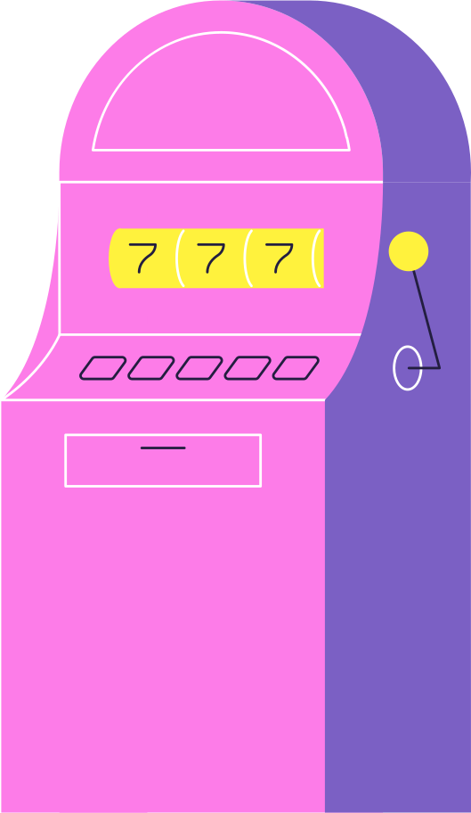 slot machine Clipart illustration in PNG, SVG