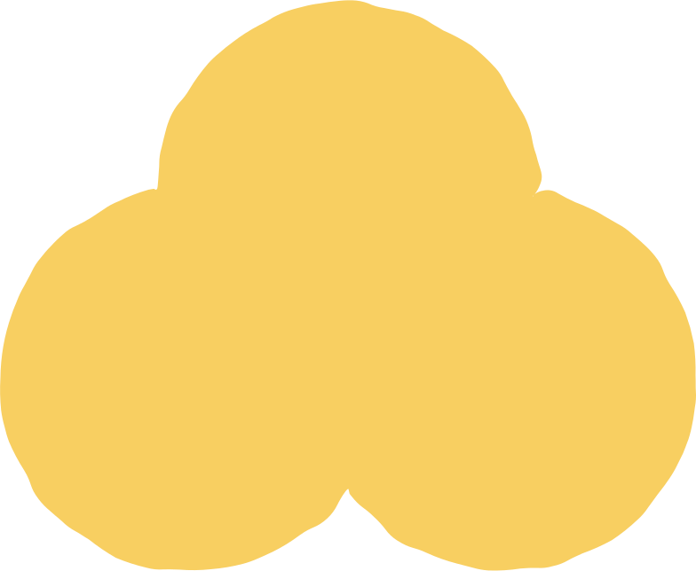 trefoil yellow Clipart illustration in PNG, SVG