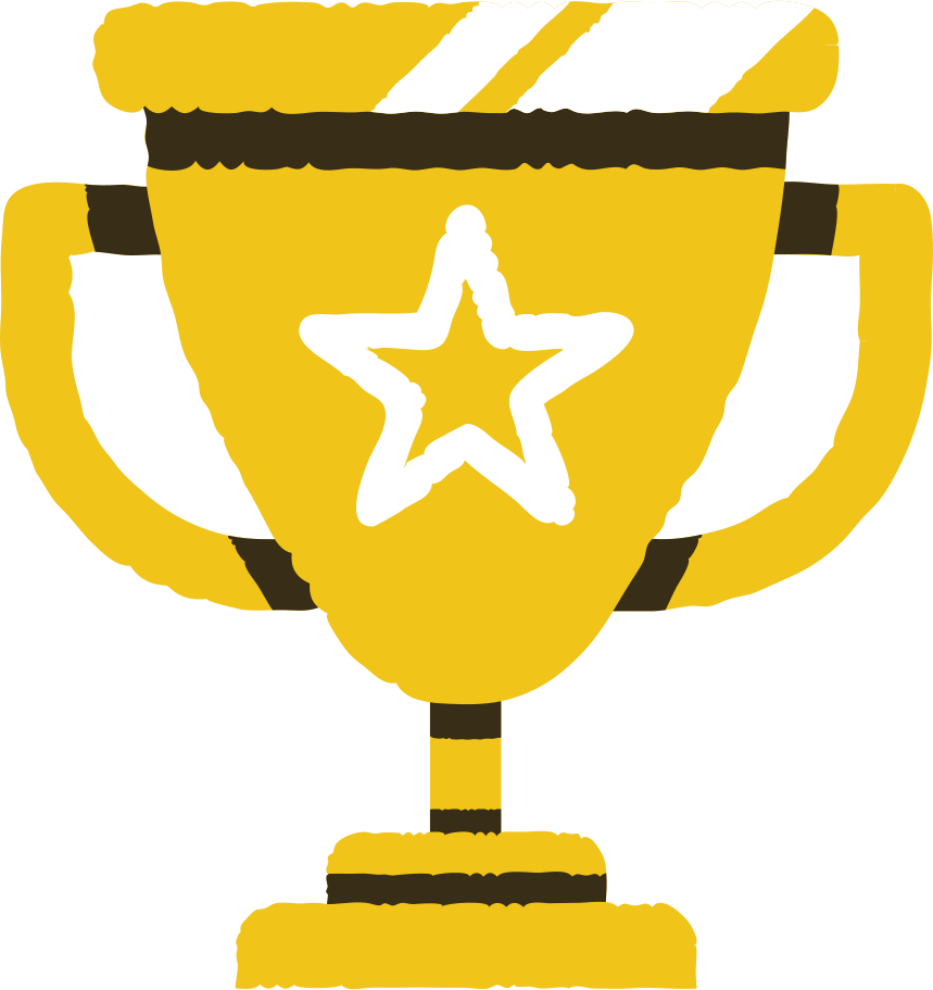 prize cup Clipart illustration in PNG, SVG