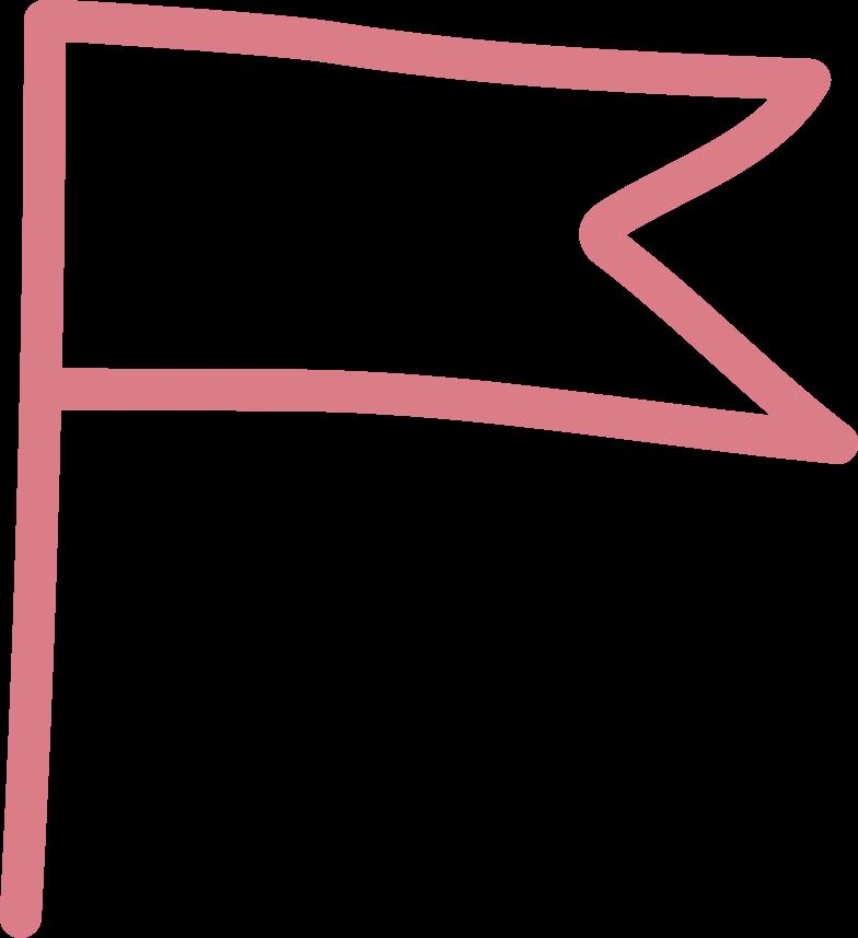 tk red flag Clipart illustration in PNG, SVG