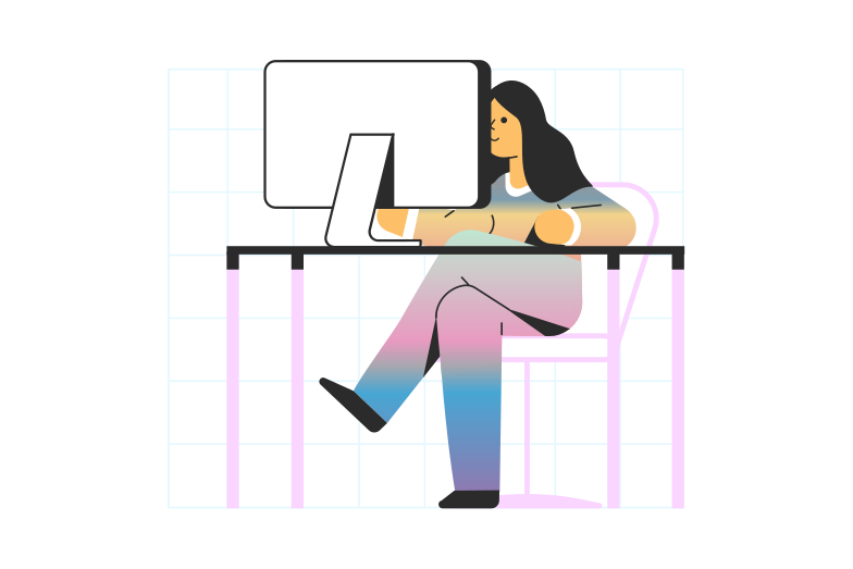 Working Clipart illustration in PNG, SVG