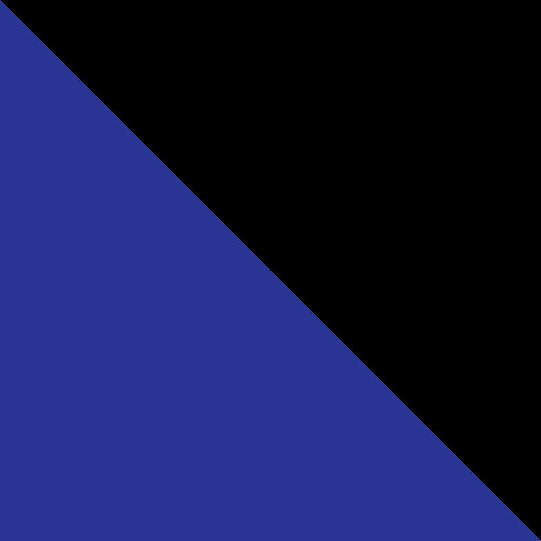 right dark blue Clipart illustration in PNG, SVG