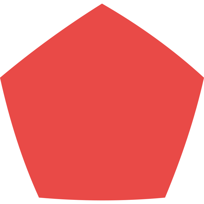 style pentagon red Vector images in PNG and SVG | Icons8 Illustrations