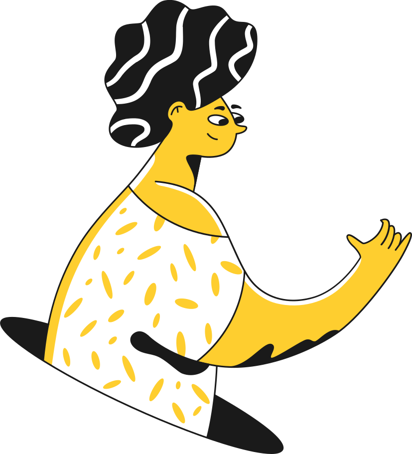 woman holding Clipart illustration in PNG, SVG