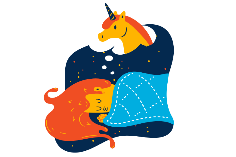 style Dreaming of unicorns Vector images in PNG and SVG | Icons8 Illustrations
