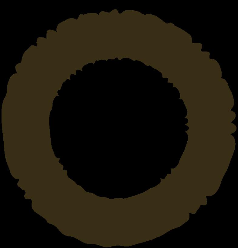 ring brown のPNG、SVGクリップアートイラスト
