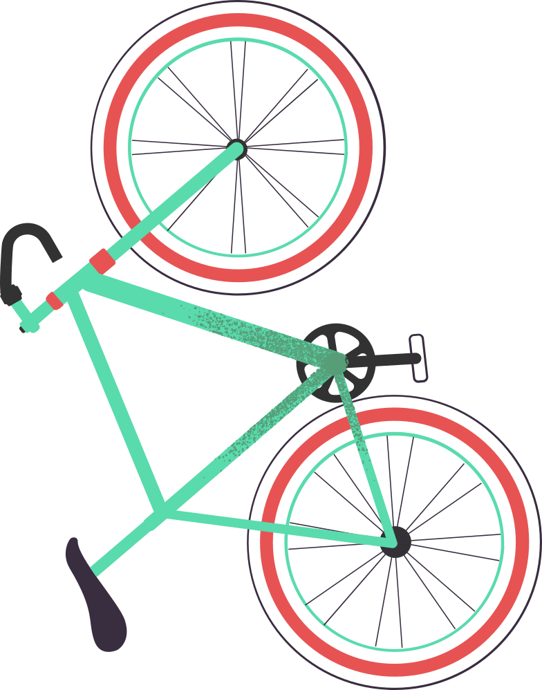 bicycle Clipart illustration in PNG, SVG
