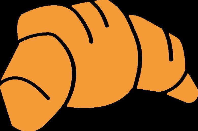 e croissant Clipart illustration in PNG, SVG