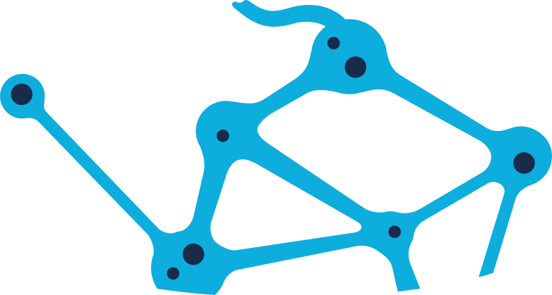 neuron chain Clipart illustration in PNG, SVG