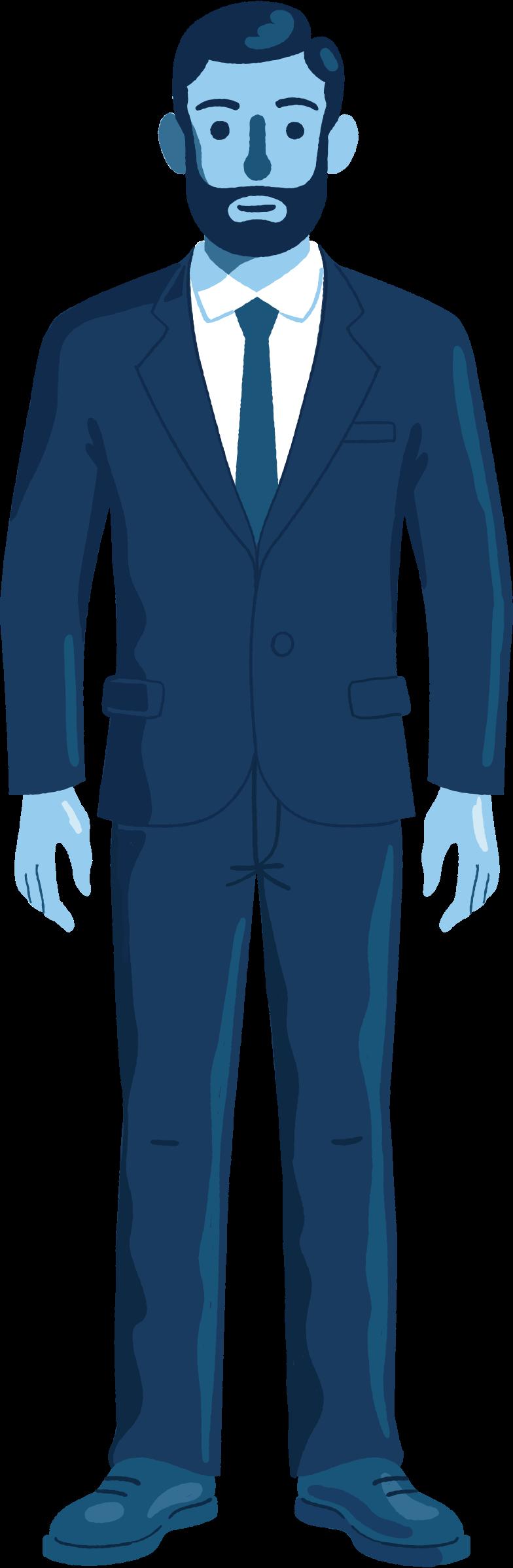 Imágenes vectoriales man in a suit en PNG y SVG estilo  | Ilustraciones Icons8