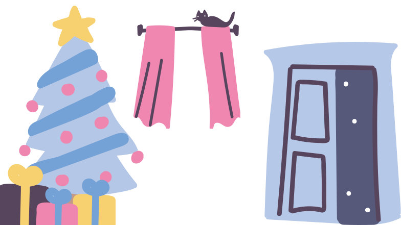 style Cozy christmas home Vector images in PNG and SVG | Icons8 Illustrations