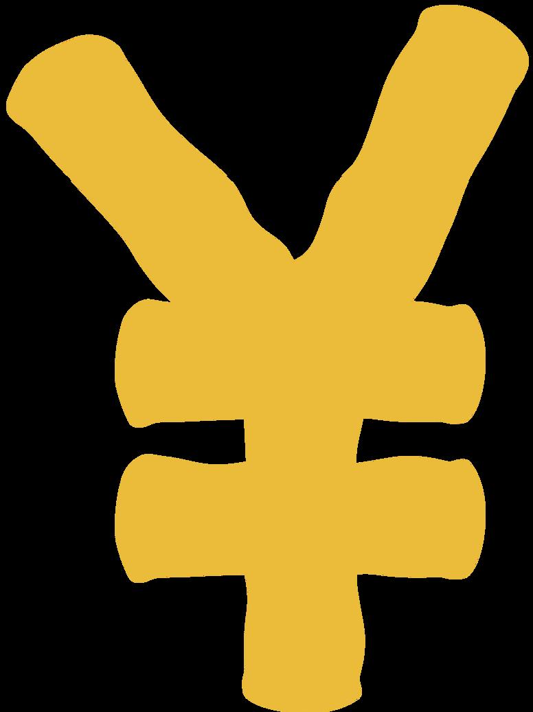 yen Clipart illustration in PNG, SVG