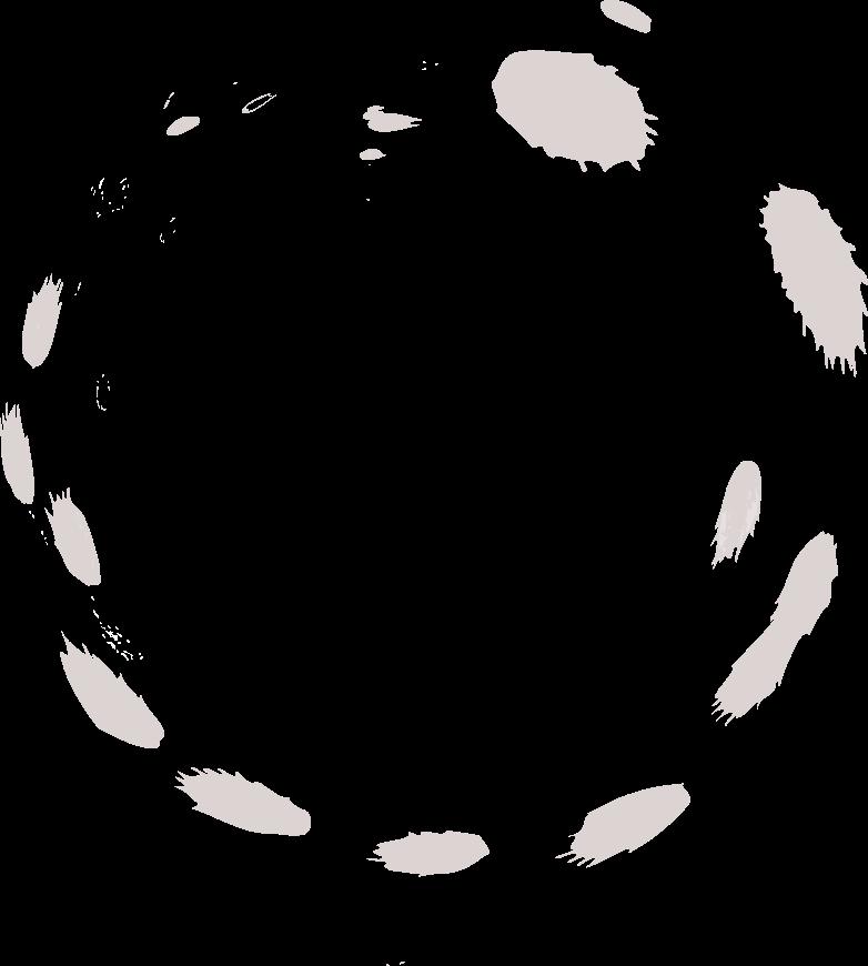 tk round ink Clipart illustration in PNG, SVG