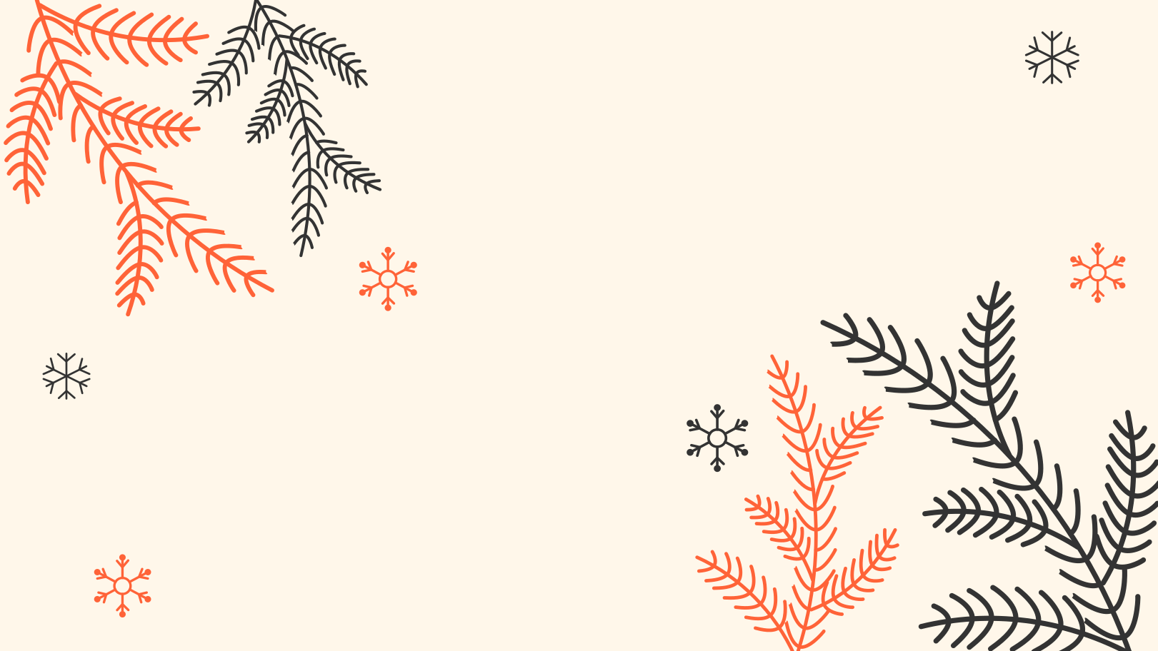 Winter background Clipart illustration in PNG, SVG
