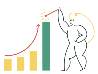 style Growth rates images in PNG and SVG | Icons8 Illustrations