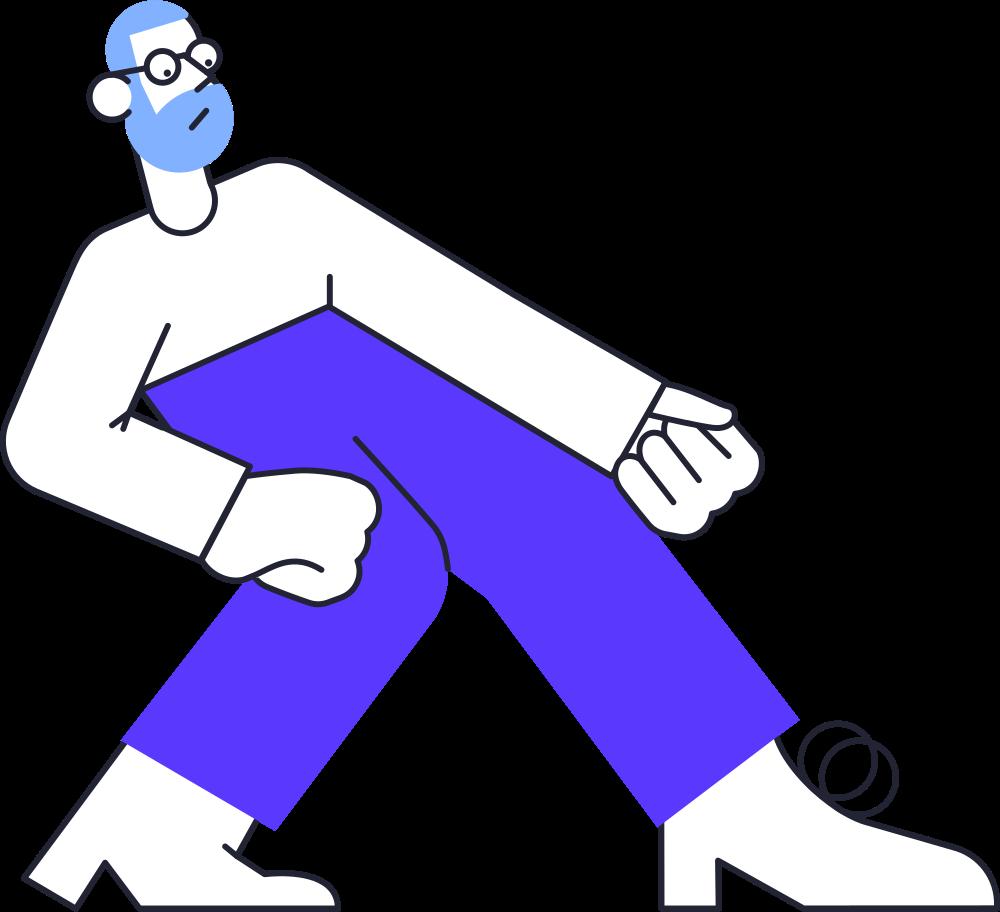 Ilustración de clipart de Hombre sin conexión en PNG, SVG