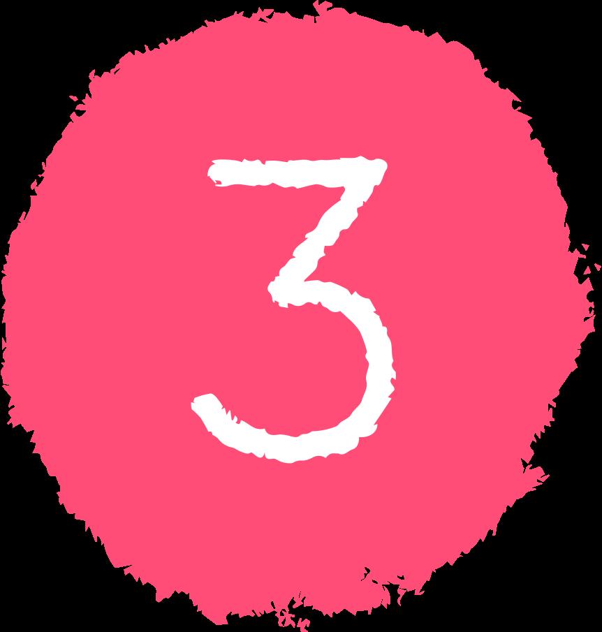 Ilustración de clipart de Tres círculos en PNG, SVG
