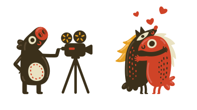 style Filmmaking images in PNG and SVG | Icons8 Illustrations