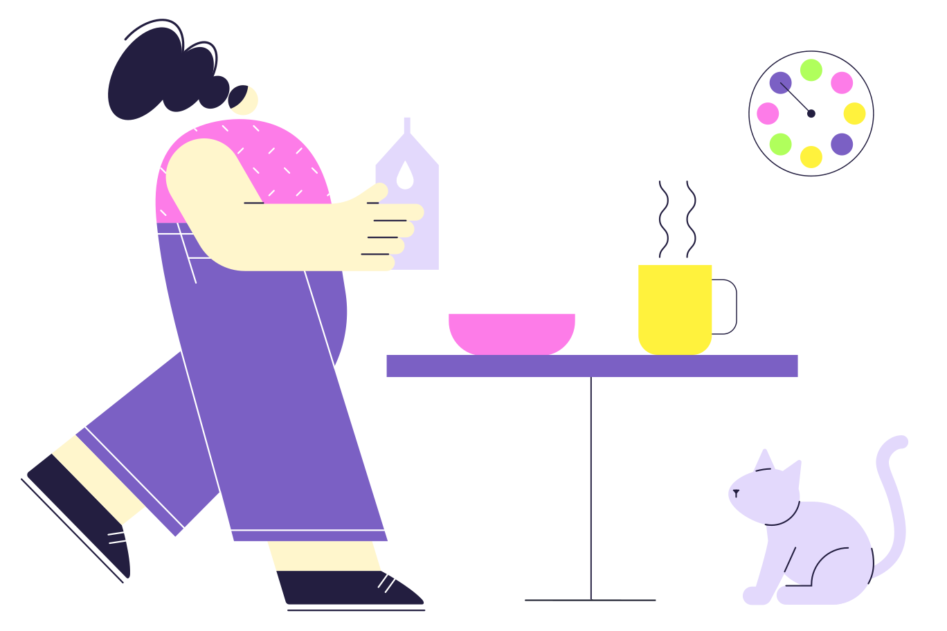 Breakfast Clipart illustration in PNG, SVG