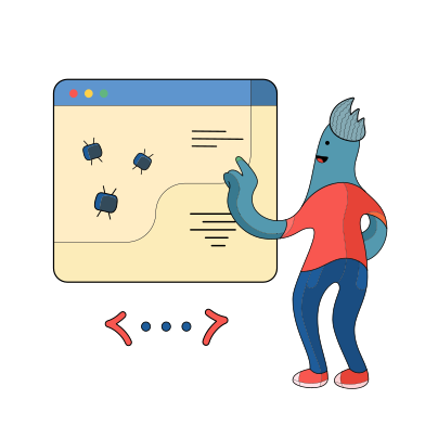 style Fixing bugs images in PNG and SVG | Icons8 Illustrations
