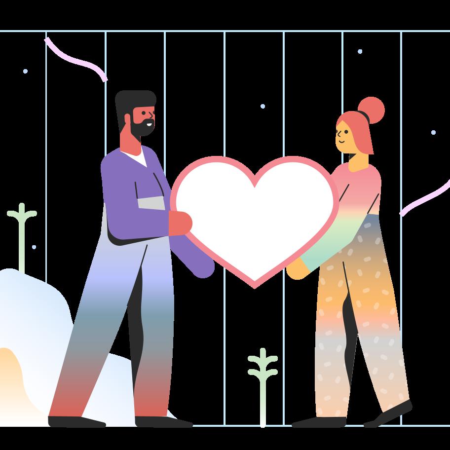 Liebe Clipart-Grafik als PNG, SVG