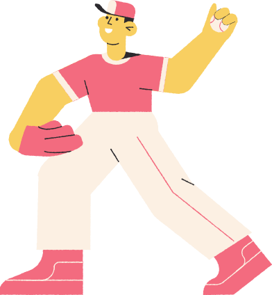 style baseballer images in PNG and SVG | Icons8 Illustrations