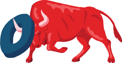 style angry bull with zero digit images in PNG and SVG | Icons8 Illustrations