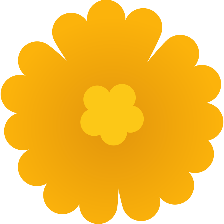 style yellow flower Vector images in PNG and SVG   Icons8 Illustrations
