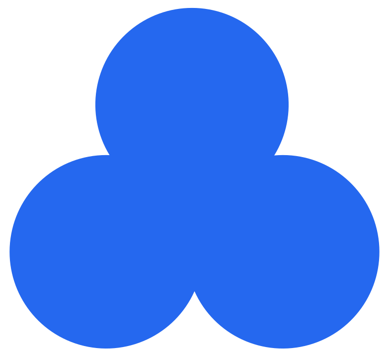 style trefoil blue Vector images in PNG and SVG | Icons8 Illustrations