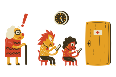 style In a queue images in PNG and SVG | Icons8 Illustrations