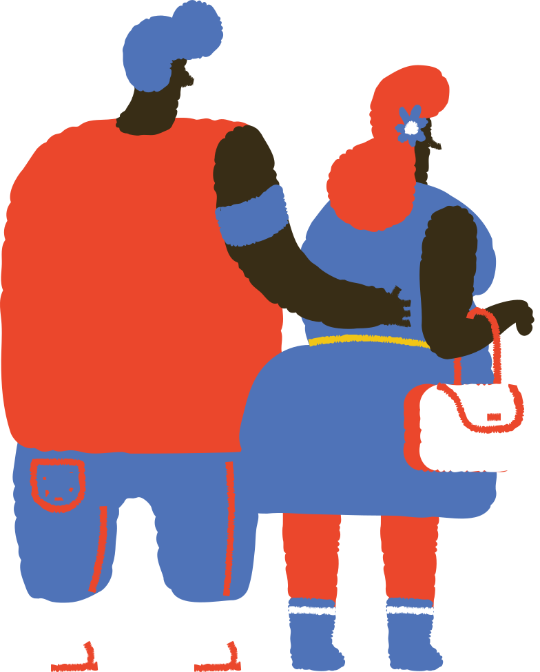 couple Clipart illustration in PNG, SVG