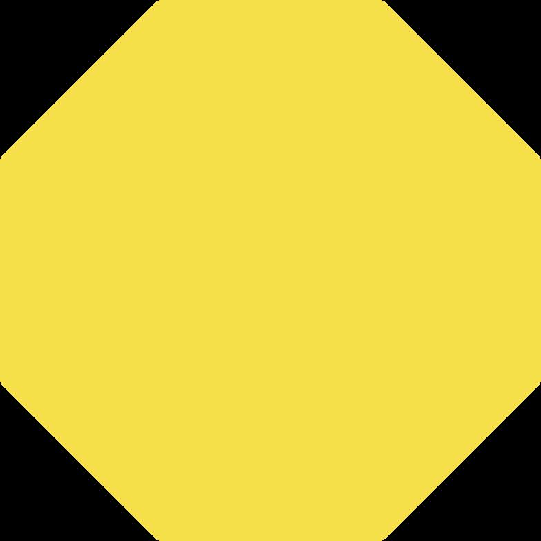 octagon shape Clipart illustration in PNG, SVG